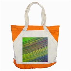Diagonal Lines Abstract Accent Tote Bag