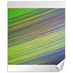 Diagonal Lines Abstract Canvas 16  X 20