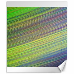 Diagonal Lines Abstract Canvas 20  X 24