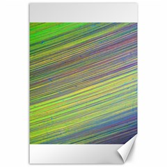 Diagonal Lines Abstract Canvas 24  X 36