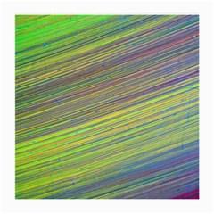 Diagonal Lines Abstract Medium Glasses Cloth
