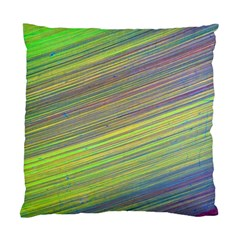 Diagonal Lines Abstract Standard Cushion Case (one Side)