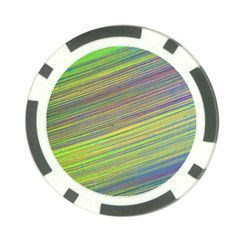 Diagonal Lines Abstract Poker Chip Card Guard (10 Pack)