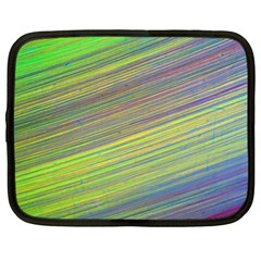 Diagonal Lines Abstract Netbook Case (xl)