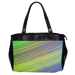 Diagonal Lines Abstract Office Handbags (2 Sides)