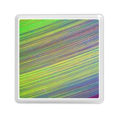 Diagonal Lines Abstract Memory Card Reader (Square)