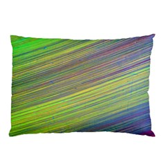 Diagonal Lines Abstract Pillow Case (two Sides)