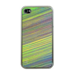 Diagonal Lines Abstract Apple Iphone 4 Case (clear)