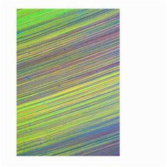 Diagonal Lines Abstract Large Garden Flag (two Sides)
