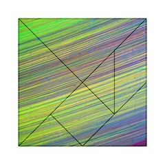 Diagonal Lines Abstract Acrylic Tangram Puzzle (6  X 6 )