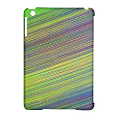 Diagonal Lines Abstract Apple Ipad Mini Hardshell Case (compatible With Smart Cover)