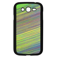 Diagonal Lines Abstract Samsung Galaxy Grand DUOS I9082 Case (Black)