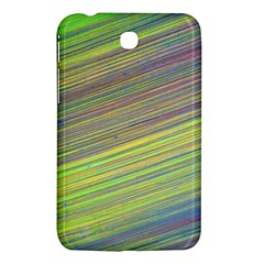 Diagonal Lines Abstract Samsung Galaxy Tab 3 (7 ) P3200 Hardshell Case