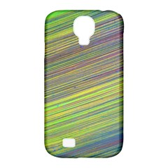 Diagonal Lines Abstract Samsung Galaxy S4 Classic Hardshell Case (pc+silicone)
