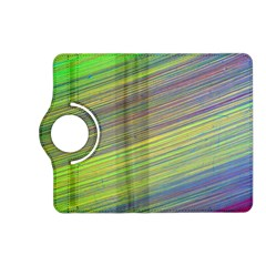 Diagonal Lines Abstract Kindle Fire Hd (2013) Flip 360 Case