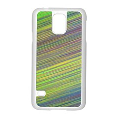 Diagonal Lines Abstract Samsung Galaxy S5 Case (white)