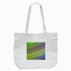 Diagonal Lines Abstract Tote Bag (white)
