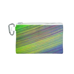 Diagonal Lines Abstract Canvas Cosmetic Bag (s)