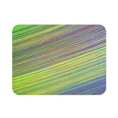 Diagonal Lines Abstract Double Sided Flano Blanket (mini)