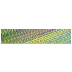 Diagonal Lines Abstract Flano Scarf (small)
