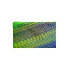 Diagonal Lines Abstract Cosmetic Bag (xs)