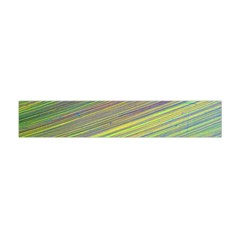 Diagonal Lines Abstract Flano Scarf (Mini)
