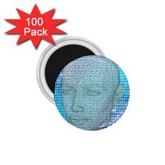 Digital Pattern 1 75  Magnets (100 Pack)