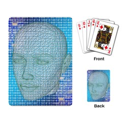 Digital Pattern Playing Card