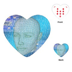 Digital Pattern Playing Cards (heart)