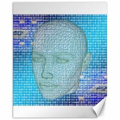 Digital Pattern Canvas 11  X 14