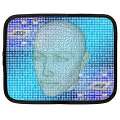 Digital Pattern Netbook Case (xl)
