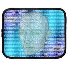 Digital Pattern Netbook Case (xxl)
