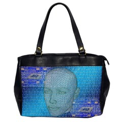Digital Pattern Office Handbags