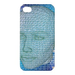 Digital Pattern Apple Iphone 4/4s Hardshell Case