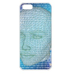Digital Pattern Apple Iphone 5 Seamless Case (white)