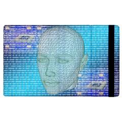 Digital Pattern Apple Ipad 2 Flip Case