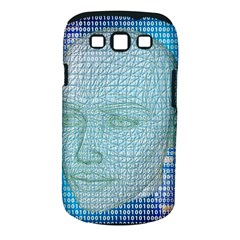 Digital Pattern Samsung Galaxy S Iii Classic Hardshell Case (pc+silicone)