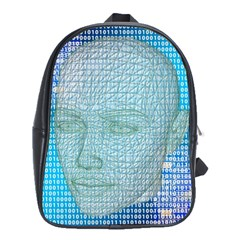 Digital Pattern School Bags (xl)