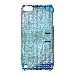 Digital Pattern Apple Ipod Touch 5 Hardshell Case With Stand