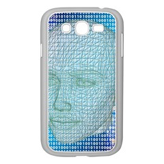 Digital Pattern Samsung Galaxy Grand Duos I9082 Case (white)