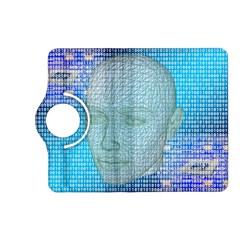 Digital Pattern Kindle Fire Hd (2013) Flip 360 Case
