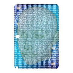 Digital Pattern Samsung Galaxy Tab Pro 10 1 Hardshell Case