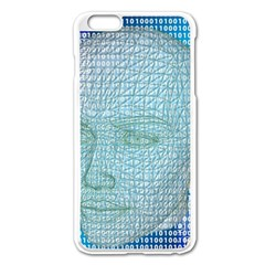 Digital Pattern Apple Iphone 6 Plus/6s Plus Enamel White Case