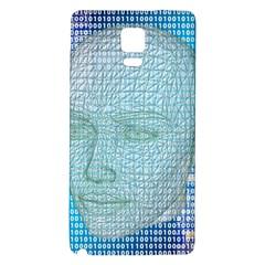 Digital Pattern Galaxy Note 4 Back Case