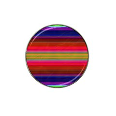 Fiesta Stripe Colorful Neon Background Hat Clip Ball Marker