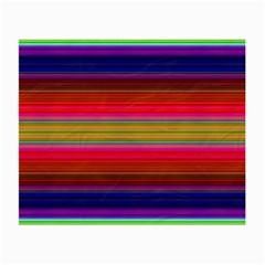 Fiesta Stripe Colorful Neon Background Small Glasses Cloth