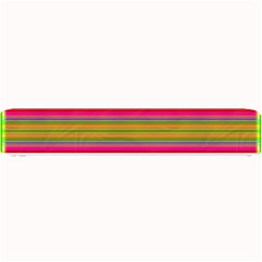 Fiesta Stripe Colorful Neon Background Small Bar Mats