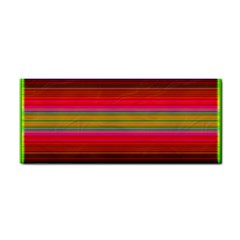 Fiesta Stripe Colorful Neon Background Cosmetic Storage Cases