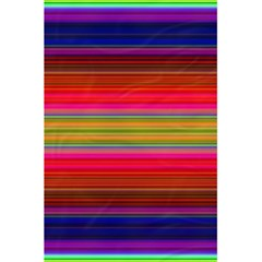 Fiesta Stripe Colorful Neon Background 5 5  X 8 5  Notebooks