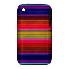 Fiesta Stripe Colorful Neon Background Iphone 3s/3gs